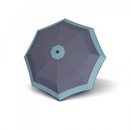 Doppler Dámsky plne automatický dáždnik Magic Fiber Style - modrý 74414652301