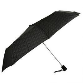 Doppler Elegantnej vystreľovací dáždnik Fiber AC - čierny s prúžkom 73016701