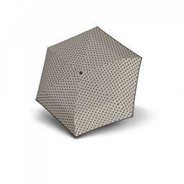 Doppler Dámsky mechanický dáždnik Hit Micro Dots - šedý s bodkami 710565PD01