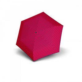 Doppler Dámsky mechanický dáždnik Hit Micro Dots - ružový s bodkami 710565PD02
