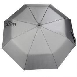 s.Oliver Dámsky skladací mechanický dáždnik S.Oliver Basic Uni - black 70865SO2203