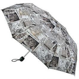 Fulton Dámsky skladací dáždnik Stowaway De Luxe 2 Old News L450