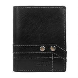 Lagen Kožená čierna peňaženka 558 NC / T Black