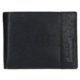 Lagen Kožená čierna peňaženka 9113 Black