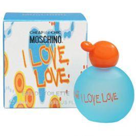 Moschino Cheap & Chic I Love Love - miniatúra EDT 4,9 ml