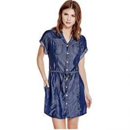 Guess Dámske šaty Maren Chambray Shirtdress S