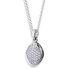 Modesi Trblietavý náhrdelník zo striebra M45009