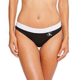 Calvin Klein Dámske športové nohavičky Thong QF1644E-001 Black S