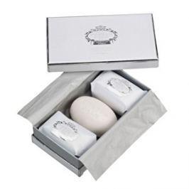 Castelbel Darčeková sada troch luxusných mydiel White & Silver 3 x 150 g