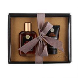 Erbario Toscano Luxusný darčekový set pre mužov Čierne korenie: Parfémovaná voda pro muže Černý pepř 50 ml + Pánský anti-age balzám po holení Černý pepř (After Shave Balm Anti-Age) 100 ml