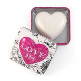 Somerset Toiletry Luxusné tuhé mydlo v tvare srdca Love (Soap) 150 g