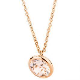 Brosway Oceľový náhrdelník s kryštálom Swarovski N-Tring BTN45