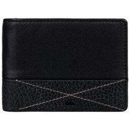 Quiksilver Kožená peňaženka Newclassicplus Black EQYAA03516-KVJ0