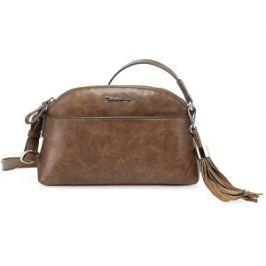 Tamaris Elegantná crossbody kabelka Melanie Crossbody Bag 2276172-305 Cognac