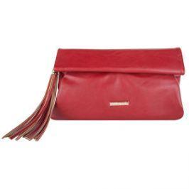 Bulaggi Elegantná listová kabelka Levitan Clutch Red 32550-69