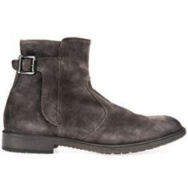 eb4d0973bd1 GEOX Pánske kožené topánky Jaylon Mud U74Y7A-00022-C6372 43