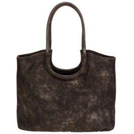 LYLEE Elegantná kabelka Frances Shopping Bag Dark Brown
