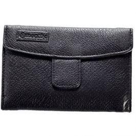 Meatfly Dámska peňaženka Mia Wall et E - Black , Feather Print
