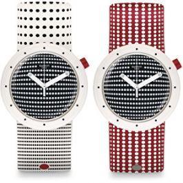 Swatch Oboustranné hodinky Dotypop PNW104
