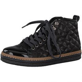 0284910d66 Detail zboží · Tamaris Elegantné dámske členkové topánky 1-1-25725-39-098  Black Comb