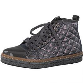 Recenzia Tamaris Elegantné dámske členkové topánky 1-1-25725-39-234  Anthracite Com 37 6af14d3248c