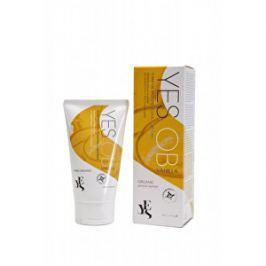 YES Intímny lubrikačný gél na báze rastlinných olejov Vanilka 80 ml