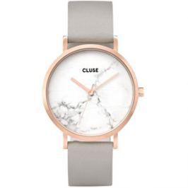 Cluse La Roche Rose Gold White Marble/Grey CL40005