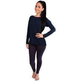 Detail zboží · Tommy Hilfiger Dámske pyžamo Cotton Iconic Set Ls  UW0UW00370-437 Navy blazer Navy blazer 1b9579c450c