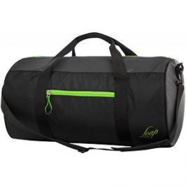 LOAP Taška cez rameno Leonte Black/Green BA17172-V11N