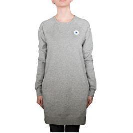 Converse Dámsky sveter Core Sweatshirt Dress Vintage Grey Heather L