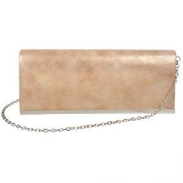 Lecharme Elegantné spoločenské listová kabelka 13000408 Taupe