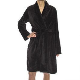 Calvin Klein Dámsky župan Robe ( Heavy Weight) QS5772A-001 Black L