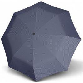 Doppler Dámsky skladací mechanický dáždnik Carbon steel mini slim chic - modrá 722651D02