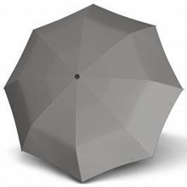 Doppler Dámsky skladací mechanický dáždnik Carbon steel mini slim chic - šedá 722651D03