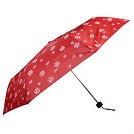 Doppler Dámsky skladací mechanický dáždnik Special Mini Edelweiss červená 700065E01