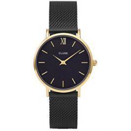 Cluse Minuit Mesh Gold Black/Black CL30026