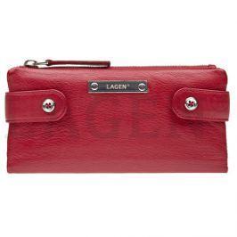 Lagen Dámska kožená peňaženka 958 Red