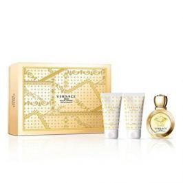 Versace Eros Pour Femme - EDT 50 ml + sprchový gel 50 ml + tělové mléko 50 ml