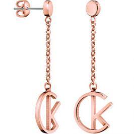 Calvin Klein Luxusné pozlátené náušnice League KJ6DPE100100