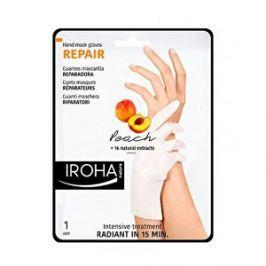 Iroha Regeneračná maska na ruky a nechty s broskyňovým sérom ( Repair Hand Mask Glov es Peach) 2 x 9 ml