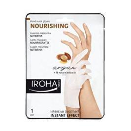 Iroha Vyživujúce maska na ruky a nechty s arganovým olejom (Nourishing Hand Mask Glov es Argan) 2 x 9 ml