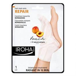 Iroha Regeneračná maska na nohy a nechty s broskyňovým sérom ( Repair Foot Mask Socks Peach) 2 x 9 ml
