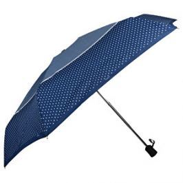 Doppler Dámsky skladací plne automatický dáždnik Fiber Magic XS Tricolore modrý 747465TR01-Hviezdičky