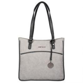 JustBag Dámska kabelka Grey / Dark grey YF1708-775