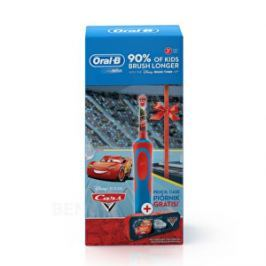 Oral B Detský elektrická zubná kefka Vitality Cars + peračník Cars