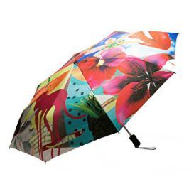 Desigual Dámsky skladací dáždnik Umbrella Crhystal Gogo 18SAZW06 3105