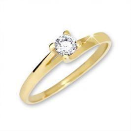 57daeed2b Detail zboží · Brilio Zlatý zásnubný prsteň 223 001 00090 - 1,65 g 58 mm