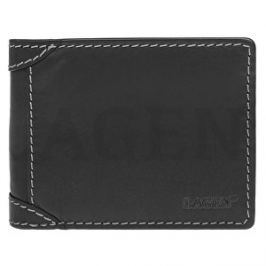 Lagen Pánska kožená peňaženka 511462 BLACK