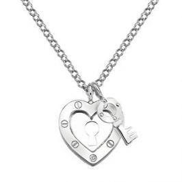 Hot Diamonds Strieborný náhrdelník Hot Diamonds Love DP653