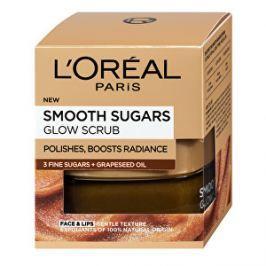 Loreal Paris Rozjasňujúce pleťový peeling s olejom z hroznových semienok (Smooth Sugars Glow Scrub) 50 ml